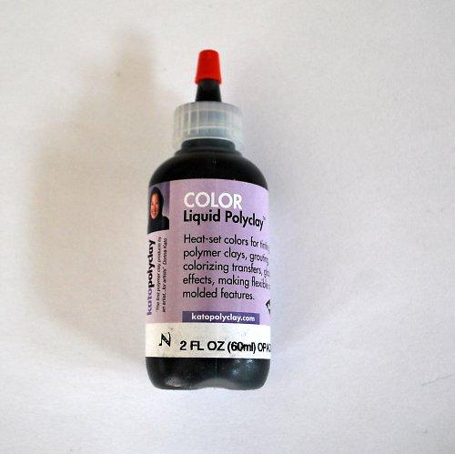 Tekutá polymerová hmota Kato Polyclay / černá
