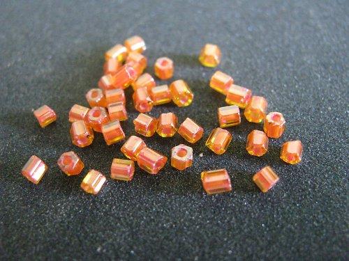 Sekaný rokajl - oranžová - 10 g