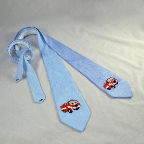 Hasičská hedvábná kravata