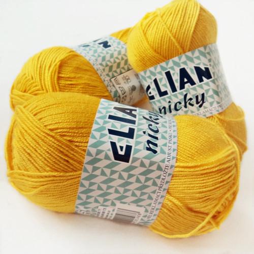 ELIAN NICKY sytě žlutá 10333