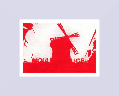 Moulin Rouge (tisk A4)