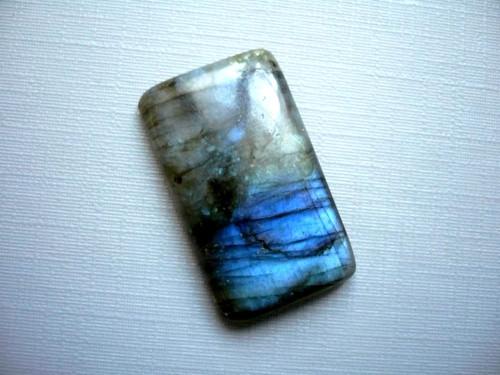 Kabošon - labradorit modrý 28 mm, č.304