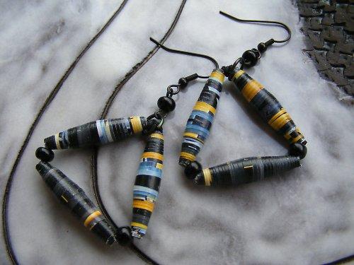 Žluto - černé pruhy