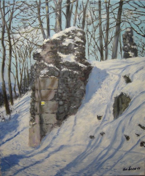Jan Severa -  Zima na Kumburku