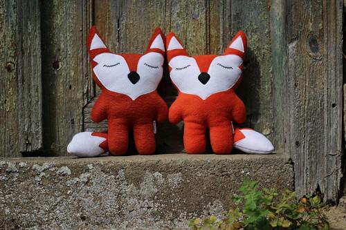 Hajánek lesní - paní liška Foxová