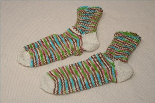 Vlněné ponožky - vel. cca 41-43