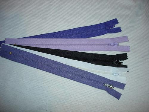 5ks plastových zipů,délka 20cm