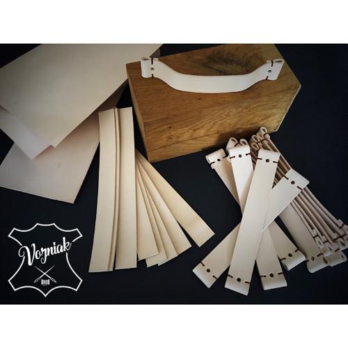Kožená nábytková úchytka - výroba na zakázku