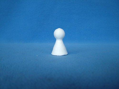 Malé bílé figurky (23 x 35 mm) - sada 20 kusů