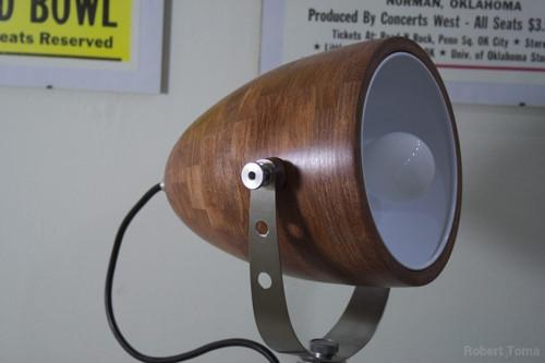 Lampa ROBUR mahagón
