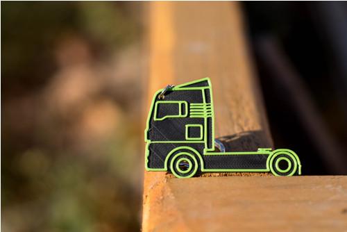 Klíčenka kamion 1