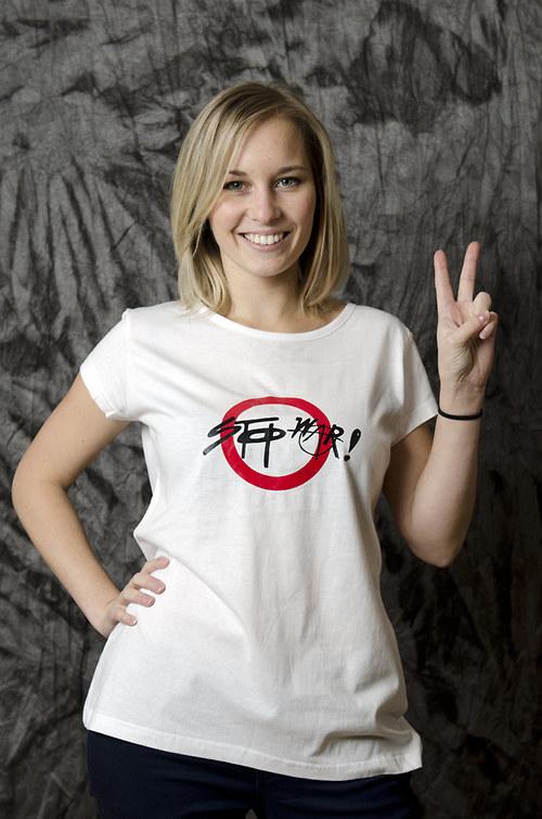 tričko -  stop war !!!