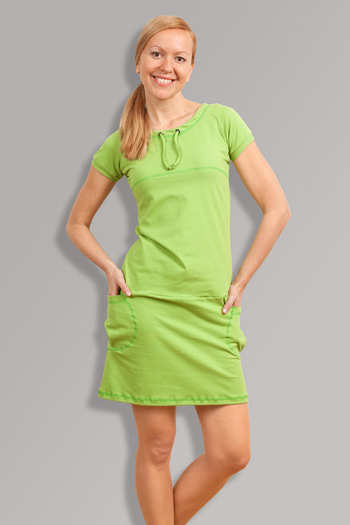 PETUNIA GREEN DRESS