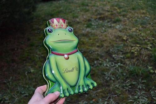 Princ - plechovka od čokolády