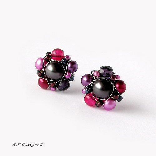 Náušničky  Blackberries...