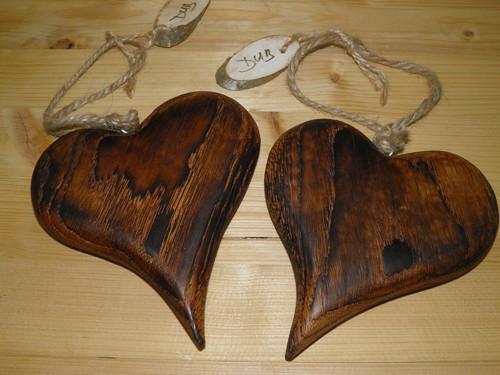Srdce ze dřeva - Srdce z lásky - DUB