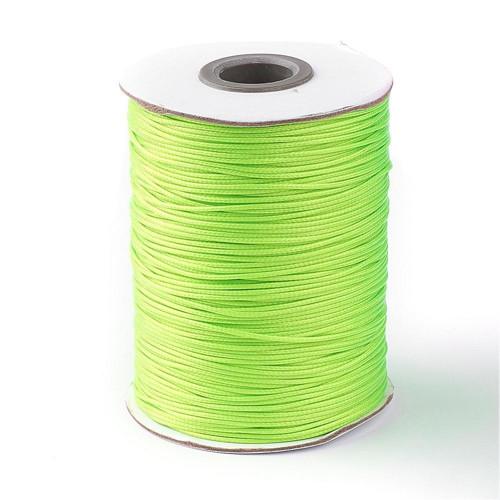 Nylonová šňůrka pr.1mm (10m) - Lime