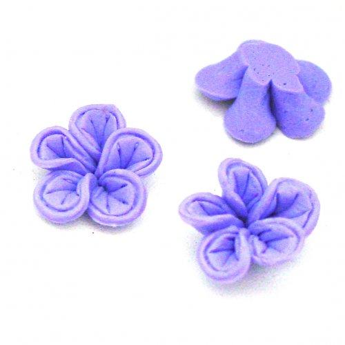 Fimo kytička - fialová