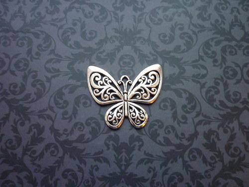 Velký motýl, přívěsek starostříbro
