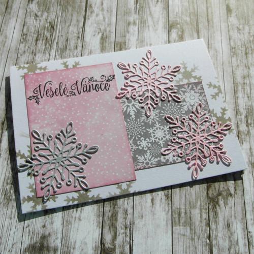Přání vánoční one sheet wonder 6