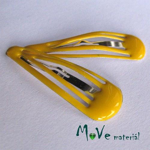 Prolamovačka - spona do vlasů, žlutá 2ks
