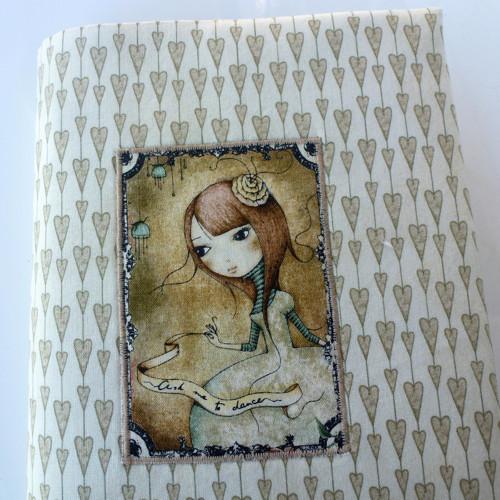 Obal na knihu- panenka Gorjus.