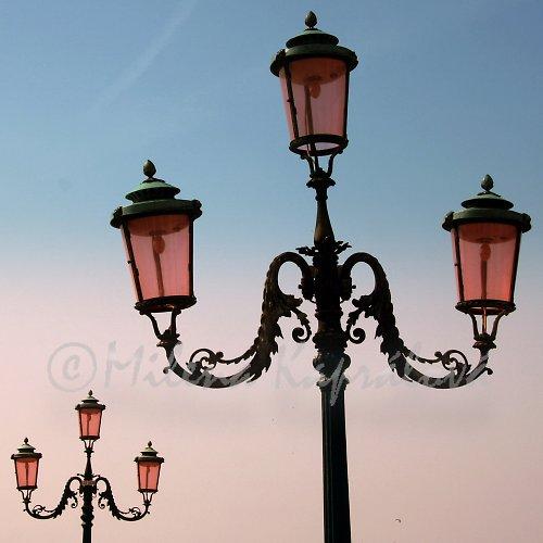 Lampy v Benátkách