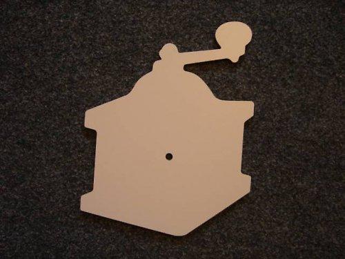 Kávomlýnek (P9) na decoupage s otvorem (hodiny)