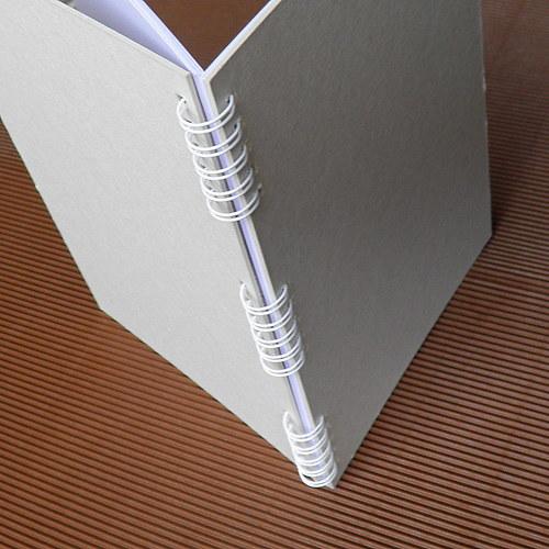 Blok A5 bílý k dalšímu tvoření - 40 listů
