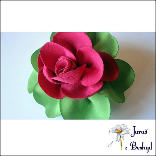 Růže do vlasů - velká