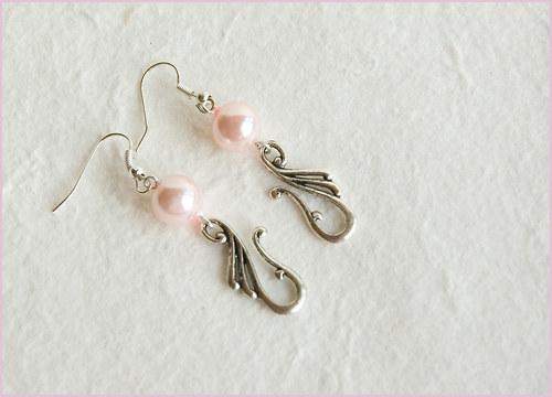 Perličkové růžové