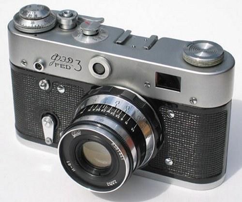 SSSR - Fotoaparát FED 3 - 60.tá léta