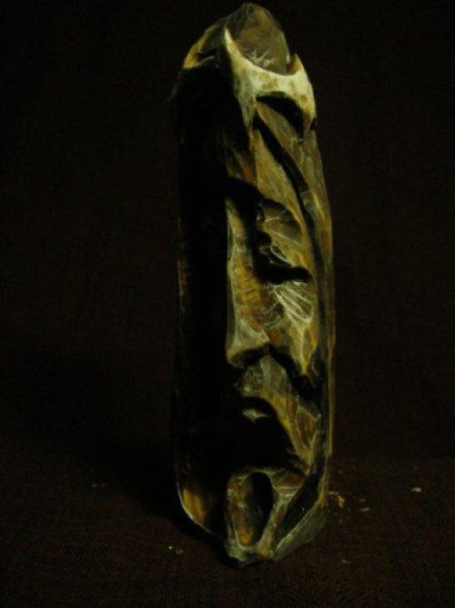 Soška Ježíše, Vyřezávaná řezba do dřeva