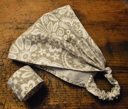 Sada - bavlněný šátek s náramkem