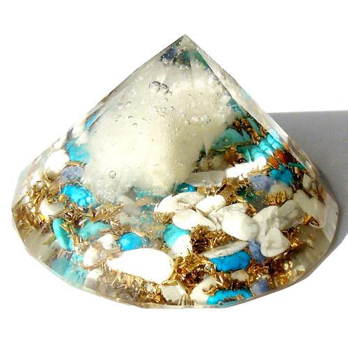 Orgonitový diamant - čistí, uzdravuje, harmonizuje