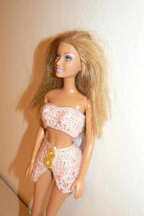 Letní komplet pro Barbie - sleva ze 44,-Kč