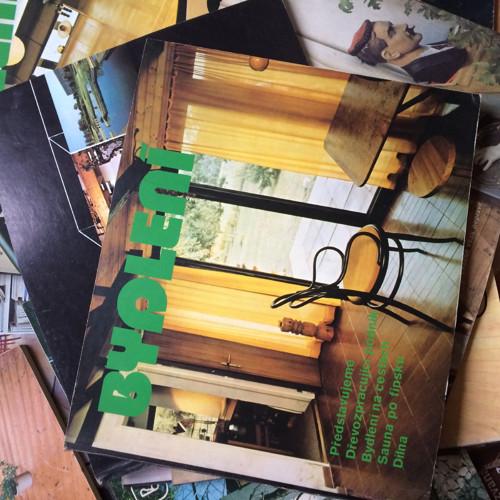 Časopisy Bydlení