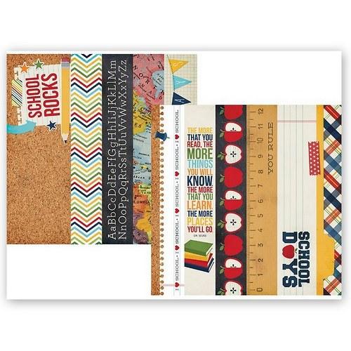 Scrapbookový papír SS / Border Strips/Smarty Pants