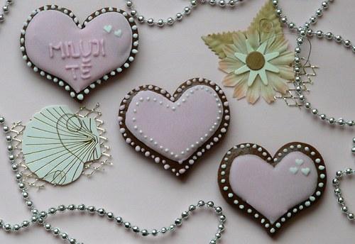 Valentinské srdíčko malé růžové