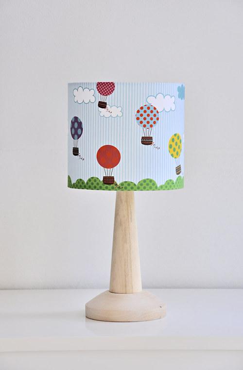 Stínítko dětské Ve vzduchu 20 cm - stolní/stropní
