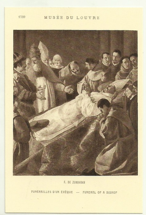 Umělecká pohlednice F.De Zurbaran