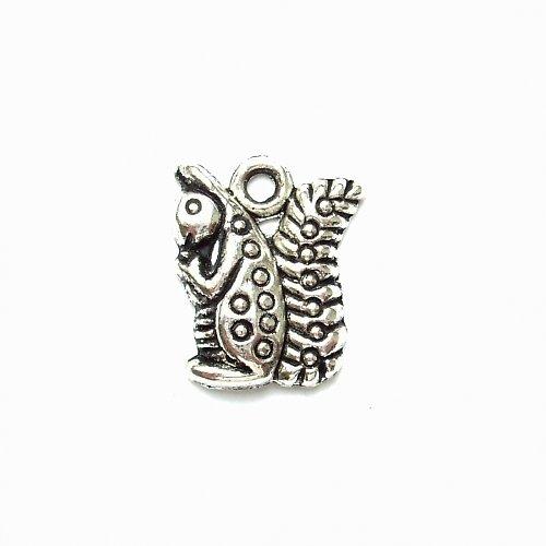 Přívěsek veverka tibetské stříbro