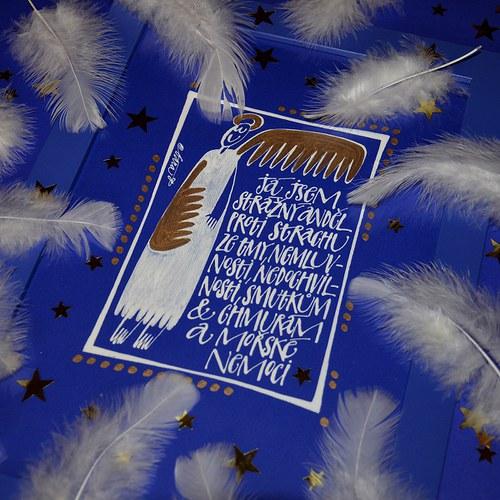 strážný anděl proti strachu ze tmy a tak...