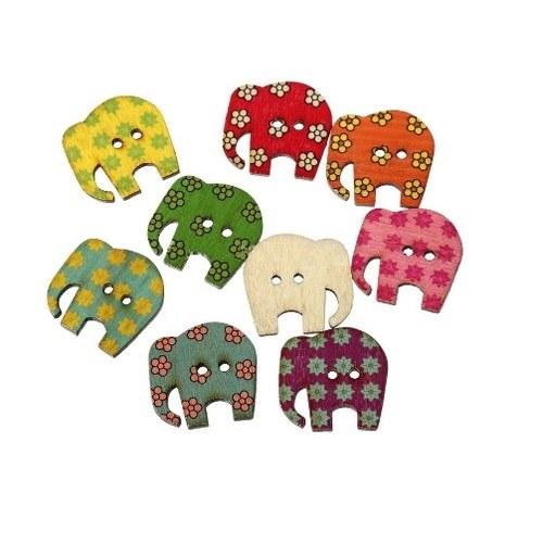 Sloni sloníci knoflíci