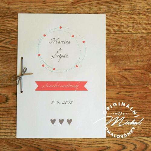 Svatební omalovánky - TYP 73