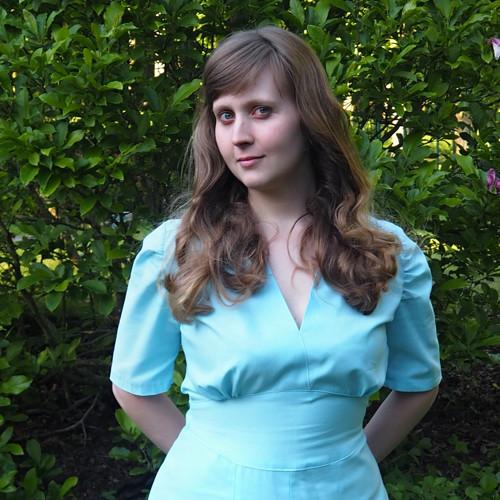 Swingové šaty Blue Moon
