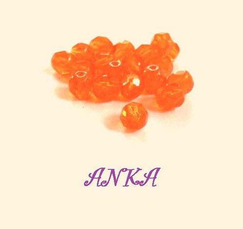 brus 6mm hyacint oranžová 25ks