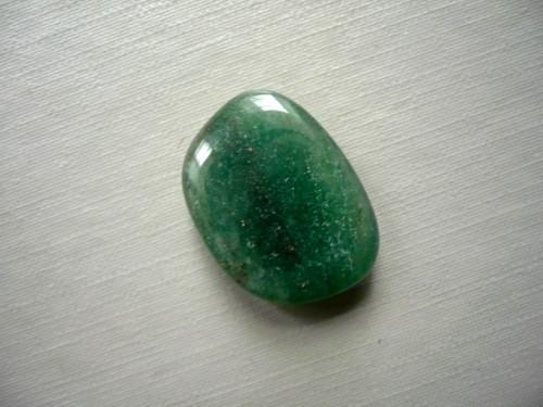 Troml. kámen – avanturín zelený 20 mm, č.16