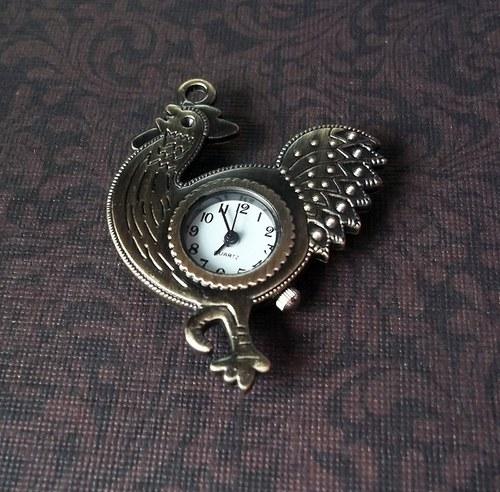 Vintage hodinky kohout