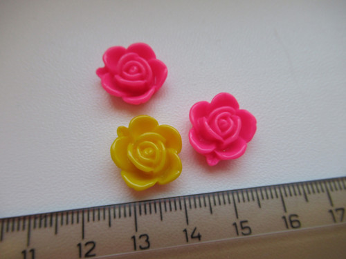 Komponent květina - 3 ks